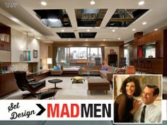 Behind the Scenes: Set Design on the TV Show Mad Men | hookedonhouses.net