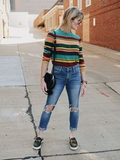 Calling all stripe lovers ShopStyle ssCollective MyShopStyle ootd currentlywearing todaysdetails getthelook wearitloveit lookoftheday fallfashion summerstyle mylook