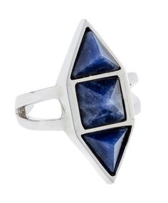 Academy Lapis Knuckle Ring by MANIAMANIA