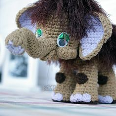 Игрушка Мамонтенок от Интернет магазина НА крючке, фото 1