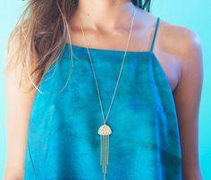 Méduse collier bijoux de l'océan sous-marin sous par shlomitofir