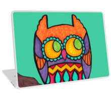 Cozy owl laptop decal!  Check out Stuff Not Things on Redbubble!