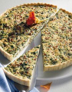 Tejszínes spenótos pite - tészta recept