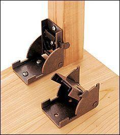 Folding Leg Bracket - Hardware    http://www.leevalley.com/en/hardware/page.aspx?p=40035=3,41306,41309=1#