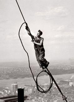 Lewis Hine The Sky Boy 1931