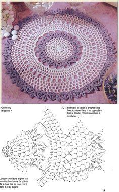Kira scheme crochet: Scheme crochet no. 1720
