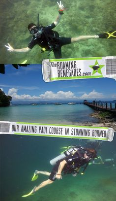 Incredible SCUBA diving in Borneo: Doing our PADI course in Malaysia!
