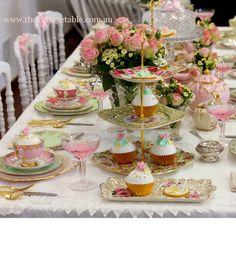 Bridle high tea  sc 1 st  Pinterest & Tea Party Table Setting | Tea Party | Pinterest | Tea party table ...