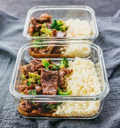 In today's post: Find 33 of the best meal prep recipes to save you money and help you eat healthier. Chicken, beef, seafood, and vegan meal prep recipes. Keto Foods, Beef Recipes, Cooking Recipes, Healthy Recipes, Yummy Recipes, Pressure Cooker Recipes, Pressure Cooking, Chicken Meal Prep, Broccoli Beef