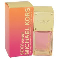 Michael Kors Sexy Sunset Perfume by Michael Kors 30ml EDP.  Perfect size for handbag.  A gorgeous perfume perfect for making you feel as sexy as can be, michael kors sexy sunset is a fragrance you need to have . The floral aroma has been around since 2015 and comes in a wonderfully-crafted, long bottle. Lotus, freesia and blackcurrant syrup make up the top notes while jasmine sambac, magnolia, rose, gardenia and peony make up the middle of this perfume. Lastly, ambrette, vanilla, cedar.