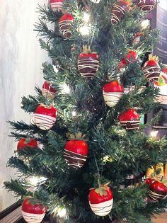 Happy Monday! Sweet Christmas Decoration Idea www.delibaking.com