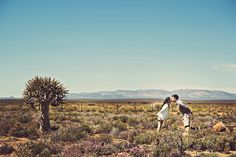 If there's anything we can take away from the couple featured in today's engagement shoot, it's that magic always happens once you step outside of your comfort zone. Kenny and Estelita ventured to the South African wild to bring us these breathtaking photographs, shot by Axioo Photography. I mean, how often do you get to look at the horizon with a ...