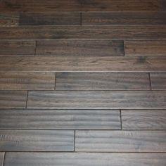 White Oak Charcoal Briquette x Hand Scraped Solid Hardwood Flooring Grey Flooring, Hardwood Floors, Engineered Bamboo Flooring, Charcoal Briquettes, White Oak Floors, Waterproof Flooring, Red Oak, Wood Planks, Wood Species