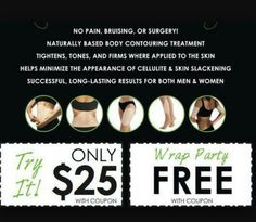 have you been wanting to try our wraps?  I have a few on hand they won't last long... message me or comment to get yours!
