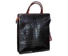 NIGHT: Bag, Limited Collection, Blue, Crocodile Skin, Handmade Product, Made in Italy, limited edition, luxury, real leather, Borsa, edizione limitata,Blu, pelle di coccodrillo vera pelle, lusso, prodotto artigianale, italia. Size can vary: 34cm x 41cm