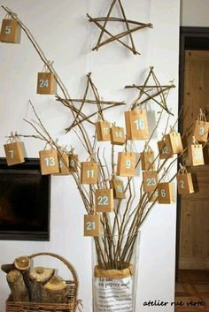 Ideas para el calendario de adviento | Decorar tu casa es facilisimo.com