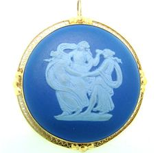Image detail for -Wedgewood Three Graces Cameo Brooch (6524)