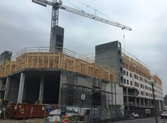 Lincoln at Tinner Hill construction progress as of 7/02/2015!