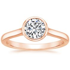 14K Rose Gold Luna Ring from Brilliant Earth