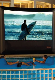 The ultimate in outdoor entertainment, our Outdoor Theater System with Playstation 3 allows you to experience movies, sporting events, and video games with the stunning clarity of high-definition Blu-ray technology and the magnificent night sky as a backdrop.