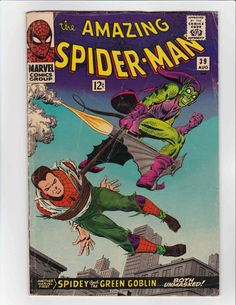 The Amazing Spider-Man #39 (Marvel) VG - VG+! HIGH RES SCANS!