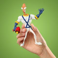 Earthworm Jim Action Figure