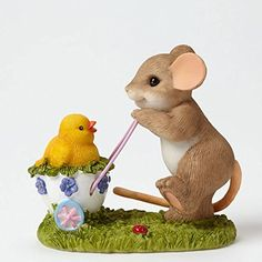 Enesco Charming Tails Taking A Stroll With My Cute C Figurine, 2.75-Inch