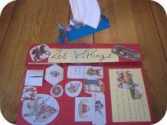 Lapbook sur les vikings…