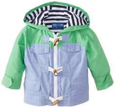 Andy & Evan Baby-Boys Infant Parka, Green, 12-18 Months