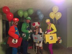Post with 22 votes and 1644 views. Shared by Mario Kart 64 Costumes Mario Halloween Costumes, Mario Costume, Halloween Banner, Halloween Party Decor, Halloween Diy, Halloween 2020, Halloween Makeup, Yoshi, Princess Peach Costume