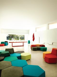 Sectional Modular Mdf Storage Wall By Cubit By Mymito