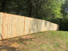 Beautiful pressure treated wood privacy fence fits in with this landscape installed by Mike & Steve from #triborofence #woodprivacyfence #woodfence #bethlehempa Wood Privacy Fence, Cedar Fence, Fence Styles, Landscape, Beautiful, Scenery, Landscape Paintings, Corner Landscaping