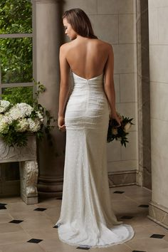 Wtoo Brides Maia Gown great for a destination or beach wedding. 2015 Wedding Dresses