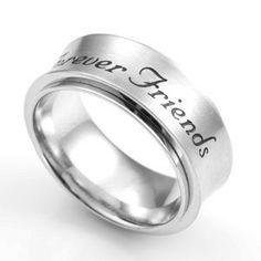 Cool Rings for Teens   Forever Friends Spinner Ring