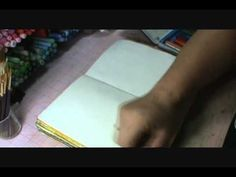 Backgrounds and Favorite Supplies tutorial by Samara.  Love this video.
