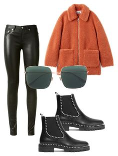 Untitled #130 by molkenn on Polyvore featuring polyvore, fashion, style, Yves Saint Laurent, Alexander Wang, Christian Dior and clothing