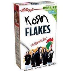just found my new favorite cereal guys. Music Humor, Music Memes, Hard Rock, Cereal Guy, Metal Meme, We Will Rock You, Nu Metal, Band Memes, Heavy Metal Bands