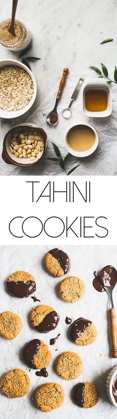 Tahini cookies <3