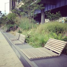 Hither and Thither — Our Adventures At Home and Away Landscape Concept, Landscape Architecture, Landscape Design, Architecture Design, Garden Design, House Design, Public Seating, Outdoor Seating Areas, Garden Seating
