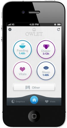 Owlet Baby Care   The Wireless iPhone Baby Breathing Monitor