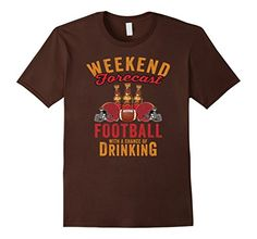 Mens Weekend Forecast Football With A Chance Of Drinking ... https://www.amazon.com/dp/B0747XQJ6B/ref=cm_sw_r_pi_dp_x_9d5Dzb6E5GJM8