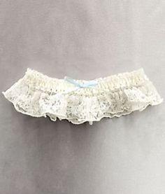 Hanky Panky Bridal Rosalyn Signature Lace Garter, One Size, Ivory Hanky Panky. $11.00