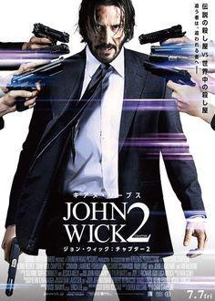 John Wick: Chapter 2 is an action film. It stars Keanu Reeves, Common, Laurence Fishburn. John Wick 2 Movie, John Wick Hd, Keanu Reeves John Wick, Keanu Charles Reeves, Geek Movies, Top Movies, Epic Movie, Love Movie, Movie List