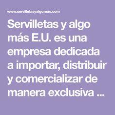 Servilletas y algo más E.U. es una empresa dedicada a importar, distribuir y comercializar de manera exclusiva en Colombia Servilletas decorativas. Tendencia Vintage. Servilletas y algo mas