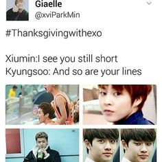 eNOUGH cr. xviParkMin #thanksgivingwithexo