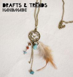 Colar DIY feito à mão. Original Drafts & Trends. Para mais peças visitem a nossa página: facebook.com/draftsandtrends