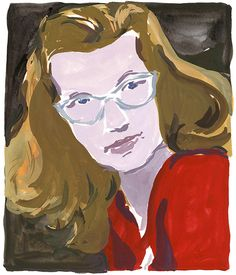 A portrait of Shirley Jackson for The New York Times Sunday Book Review