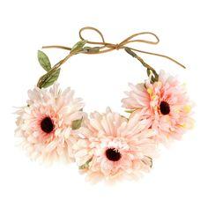 #Osheaga: nos essentiels pour un #look de #festival #Couronne #Fleur #Rose #H&M