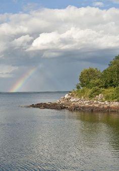 Bar Harbor, Maine  ~~~ I SEE A RAINBOW~~