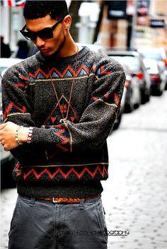 aztek sweater
